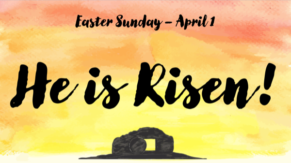 Easter Services Information