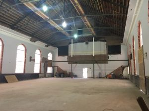 Sanctuary Renovation as of December 22 2016